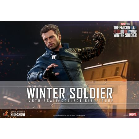 Winter Soldier 1:6 Scale Figure Hot Toys 908033