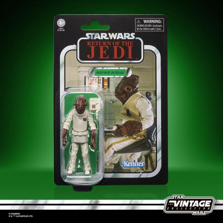 Star Wars The Vintage Collection Admiral Ackbar (#22 Re-Issue) VC22 Hasbro