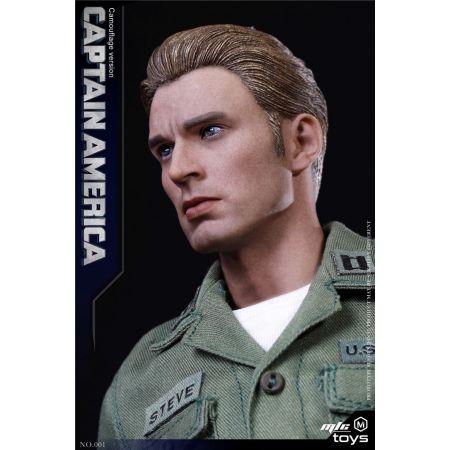 Captain America Stealth Edition (Uniform) 1:6 Scale Figure MicToys MIC 001