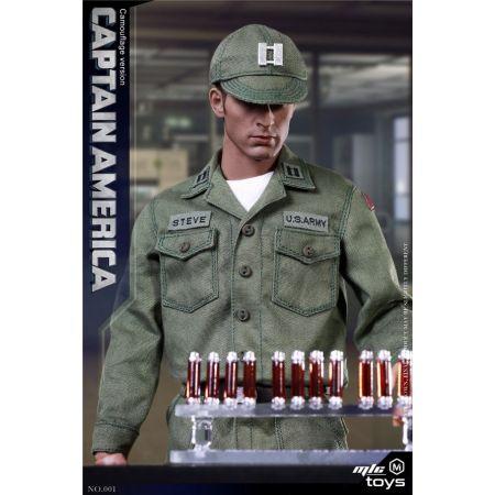 Captain America Stealth Edition (Uniform) 1:6 Scale Figure MicToys MIC 001Captain America Stealth Edition (Uniform) 1:6 Scale Figure MicToys MIC 001