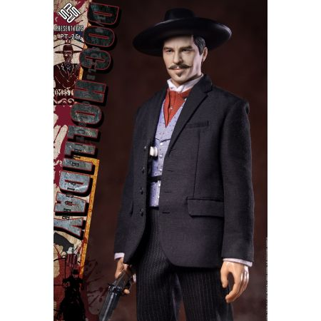 Doc Holliday Legendary Gunner 1:6 Scale Figure Present Toys PT-SP25