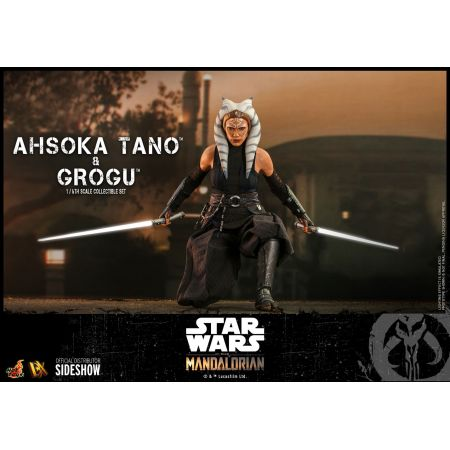 Ahsoka Tano and Grogu 1:6 Scale Figure Set Hot Toys 908145
