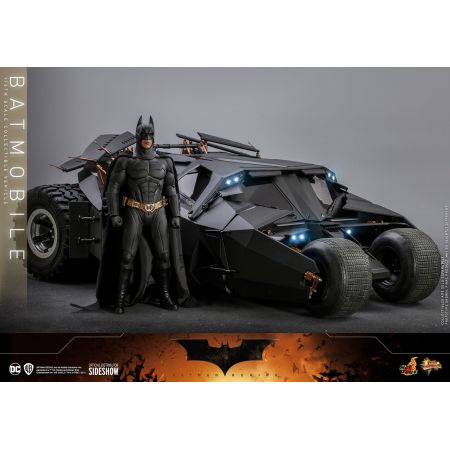 Dark Knight Batmobile 1:6 Scale Figure Accessory Hot Toys 908080Dark Knight Batmobile 1:6 Scale Figure Accessory Hot Toys 908080