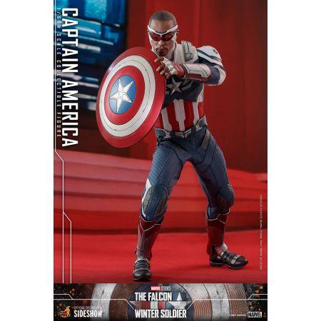 Captain America (Sam Wilson) 1:6 Scale Figure Hot Toys 908266