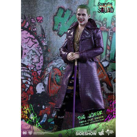 Suicide Squad The Joker (Version Manteau Violet) Figurine échelle 1:6 Hot Toys MMS382 902795