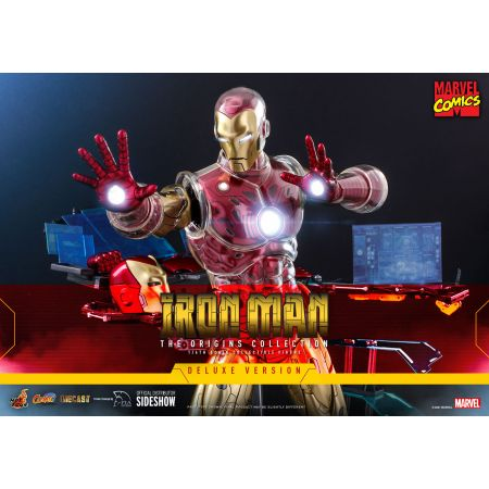 Iron Man (Deluxe) 1:6 Scale Figure Diecast (The Origins Collection) Hot Toys 908152