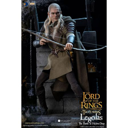 Legolas at Helm's Deep 1:6 Scale Figure Asmus Collectible Toys 908182