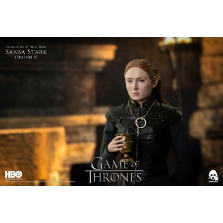 Sansa Stark (Season 8) 1:6 Scale Figure Threezero 908226