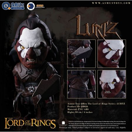 The Lord of the Rings Series Q-Bitz Collectible Set Asmus Collectible Toys 908166