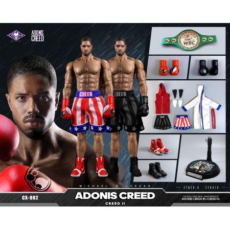 Adonis Creed (Creed  II) 1:6 Scale Figure Cyber-X Studio CX002