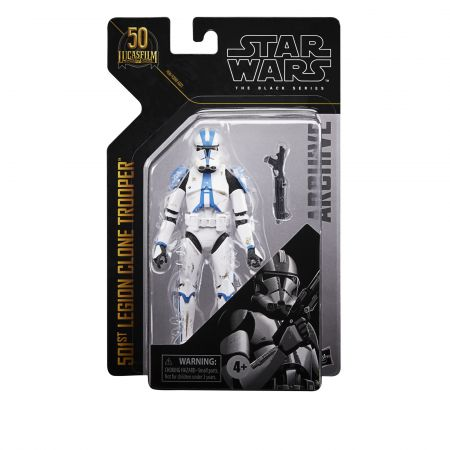 Star Wars The Black Series Archive 6-inch scale action figure - 501st Legion Clone Trooper Hasbro