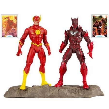 DC Multiverse Earth-52 The Flash & Batman 2-pack McFarlane Toys