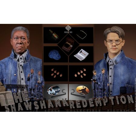 The Shawshank Redemption Double suit 1:6 scale action figures set Present Toys PT-SP28