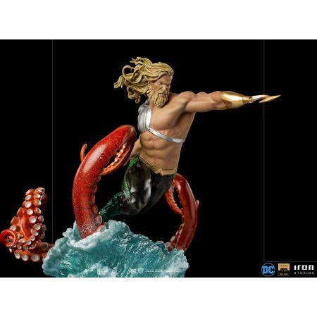 Aquaman Deluxe 1:10 Scale Statue Iron Studios 908491