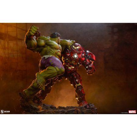 Hulk vs Hulkbuster Maquette Sideshow Collectibles 200571