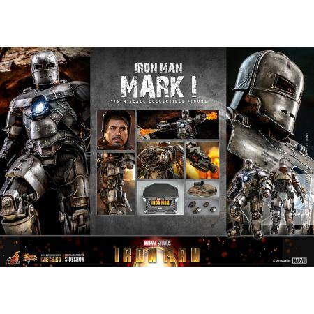 Iron Man Mark I (MK1) 1:6 Scale Figure Diecast Hot Toys 908901