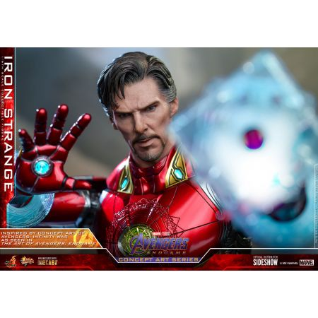 Iron Strange 1:6 Scale Figure Diecast Hot Toys 908905