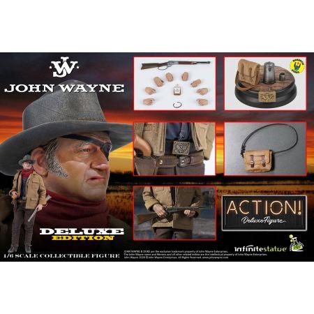 John Wayne DELUXE 1:6 Scale Figure by Infinite Statue 908907