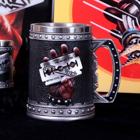 Judas Priest Verre de collection Tankard Nemesis Now 908628