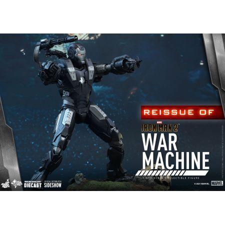 War Machine 1:6 Scale Figure DIECAST REISSUE Hot Toys 908445