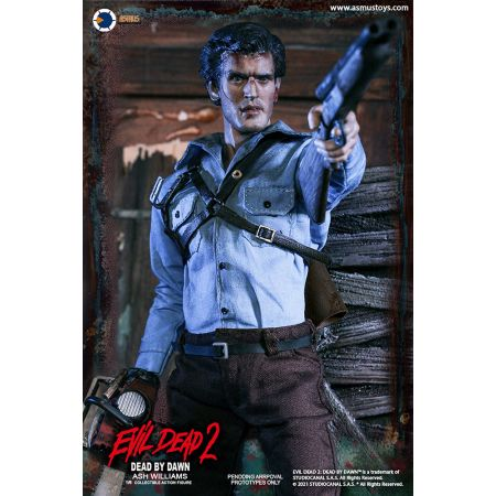 Evil Dead II Ash Williams 1:6 Scale Figure Asmus Collectible Toys 908872
