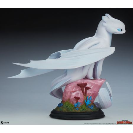 How to Train Your Dragon Light Fury Statue Sideshow Collectibles 200616