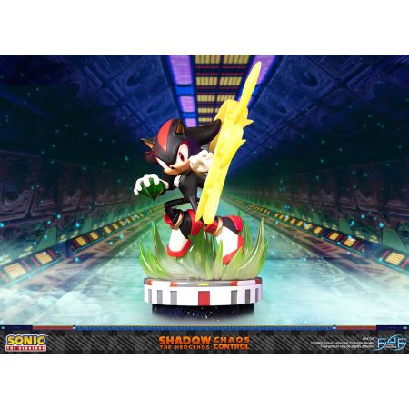 Sonic the Hedgehog Shadow: Chaos Control Collectible Statue by First 4 Figures 908835