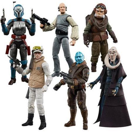Star Wars The Vintage Collection 3.75-inch Set of 6 Figures (Mythrol, Bo-Katan Kryze, Kuiil, Hoth Rebel Soldier and 2 Secret Figures  ) Hasbro