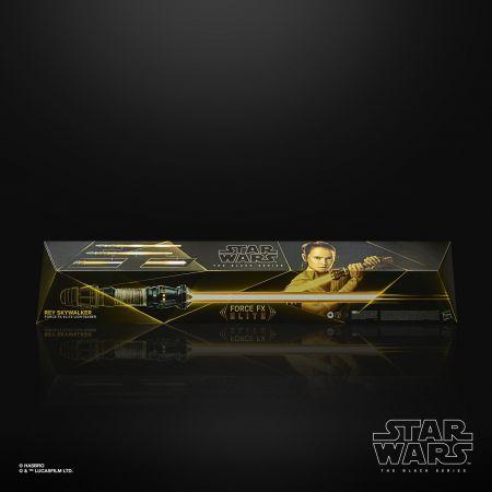 Star Wars The Black Series Rey Skywalker Force FX Elite Lightsaber Hasbro