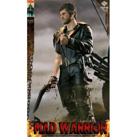 Crazy Warrior (Mad Max style) 1:6 scale action figure Present Toys PT-33