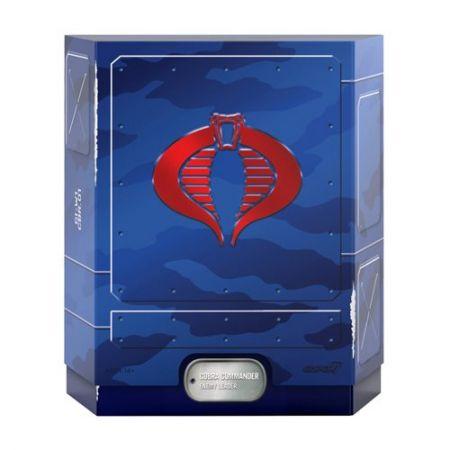 GI Joe Ultimates Cobra Commander 7-Inch Action Figure Super7 81726