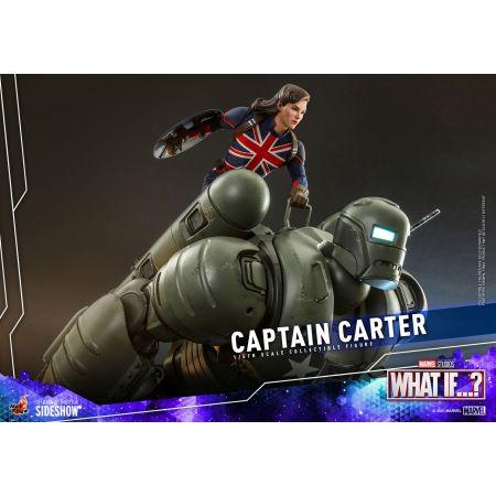 Marvel Captain Carter 1:6 Scale Figure Hot Toys 909166