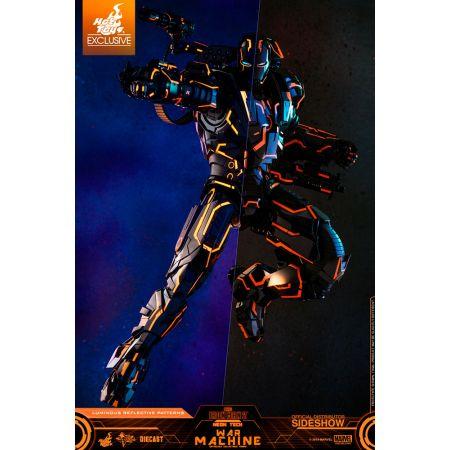 Marvel Iron Man 2 Neon Tech War Machine 1:6 Scale Figure DIECAST Hot Toys 904978