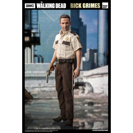 Walking Dead Rick Grimes (Season 1) 1:6 Scale Figure Threezero 909213
