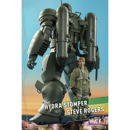 Marvel Steve Rogers and The Hydra Stomper 1:6 Scale Figure Set Hot Toys 909168