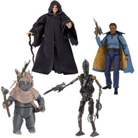 Star Wars The Vintage Collection 3.75-inch Set of 4 Figures (Lando Calrissian, Emperor Palpatine, Teebo, IG-11) Hasbro