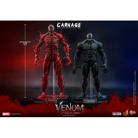Marvel Carnage (Deluxe version) 1:6 scale action figure 1:6 Hot Toys 909352