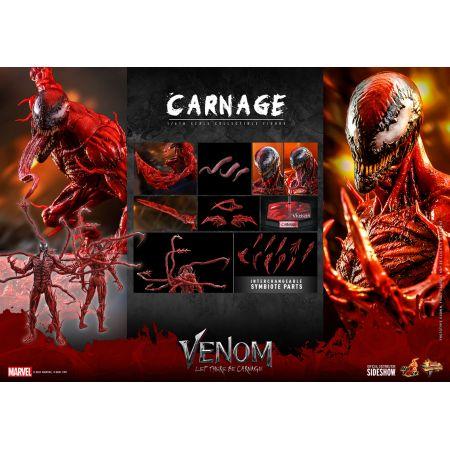 Marvel Carnage (regular version) 1:6 scale action figure Hot Toys 909396