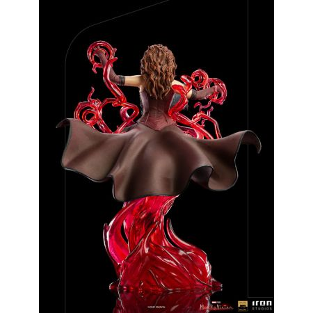 Marvel Scarlet Witch Deluxe (WandaVision) 1:10 Scale Statue Iron Studios 909464