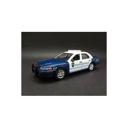 Hot Pursuit Westwood Police (Massachusetts) 2008 Ford Crown Victoria Police Interceptor