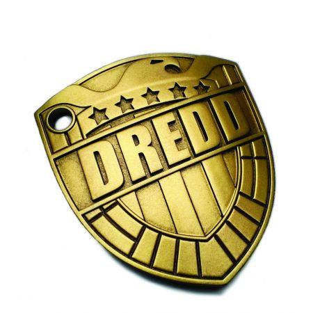 Judge Dredd Comic Badge 1:1 Prop Replica