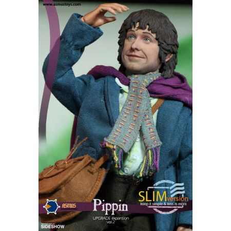 Le Seigneur des Anneaux Pippin Slim Version figurine échelle 1:6 Asmus Collectible Toys