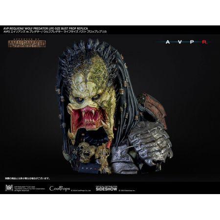 AVP: Requiem Wolf Predator Prop Replica buste grandeur nature CoolProps 903360